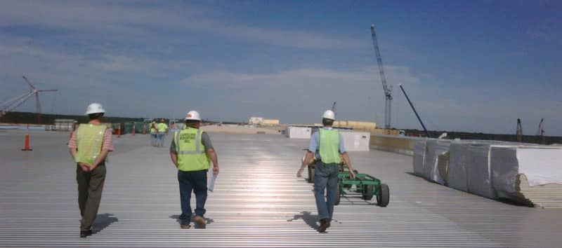 Inspection of a FiberTite Roofing System