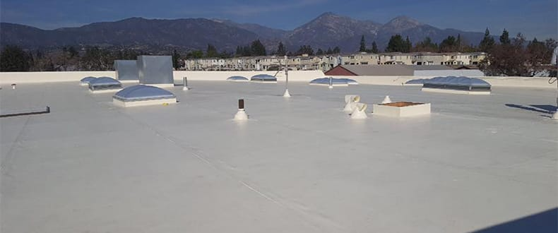 Cool Roof Pomona, CA (credit-Roofing Standards Inc.)