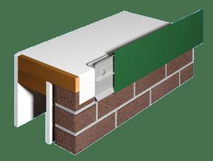 FiberTite-55 Fascia White Membrane