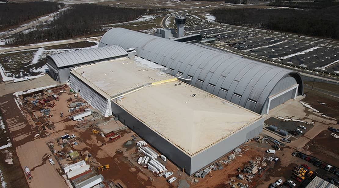 Steven F. Udvar Hazy Center | Installed Summer, 2009