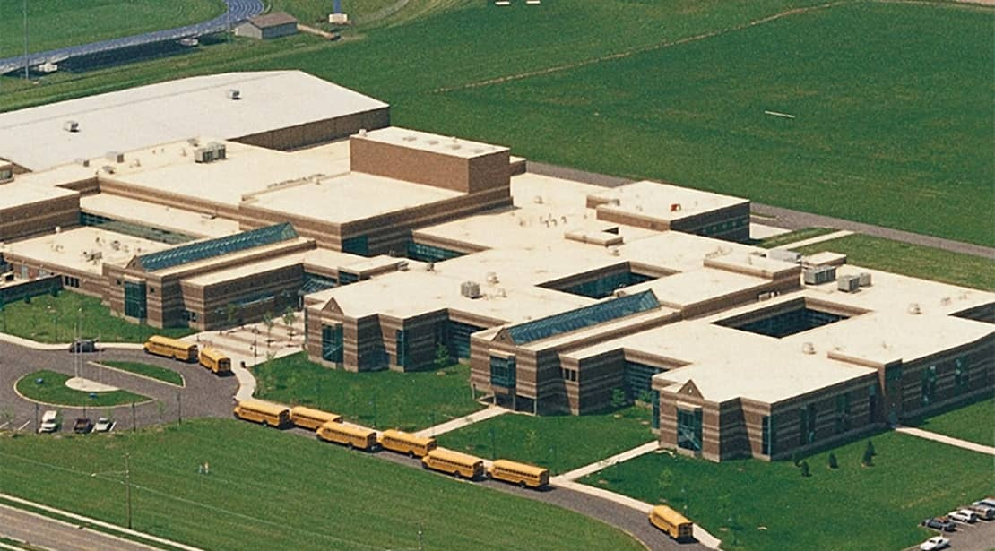 Wooster High School | Installed July, 1994