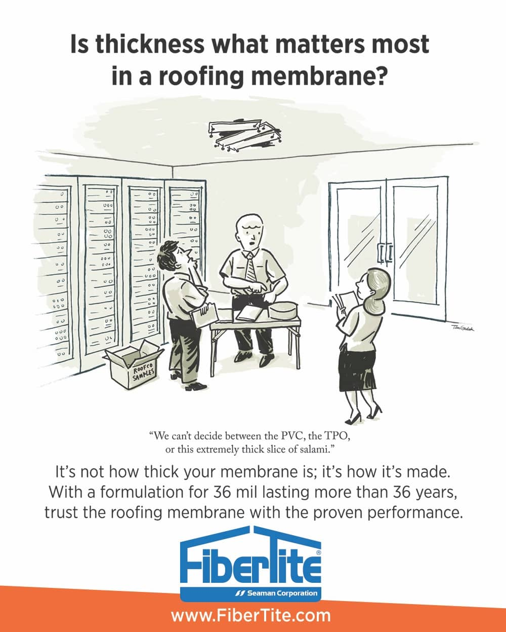 Trust the Roofing Membrane with the Proven Performance