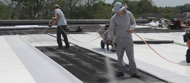 Installation of a FiberTite Roofing System