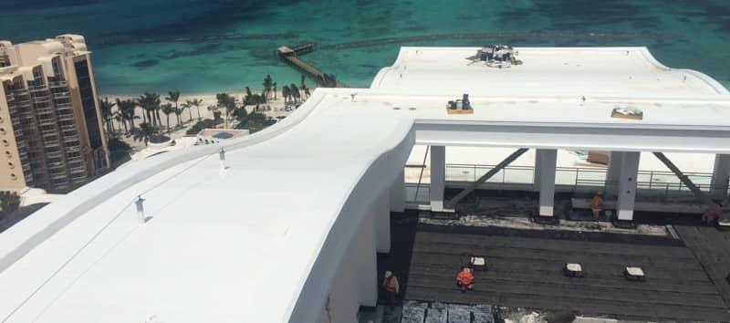 FiberTite Roofing Installation for Baha Mar Resorts