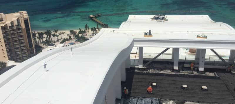 FiberTite Roofing Installation for Baha Mar Resorts
