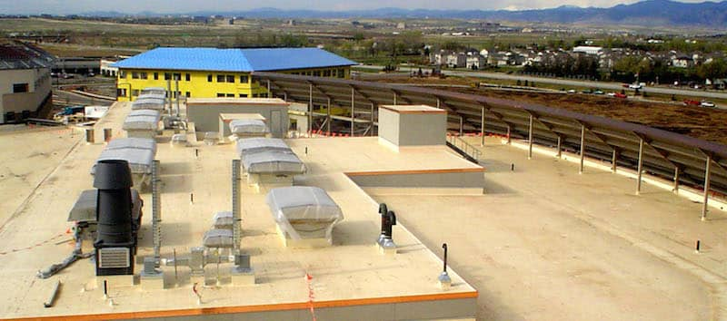 FiberTite Roofing System for Exempla Healthcare