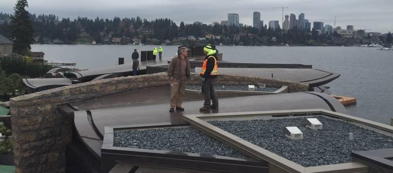 FiberTite Roofing System Installation at Groat Point