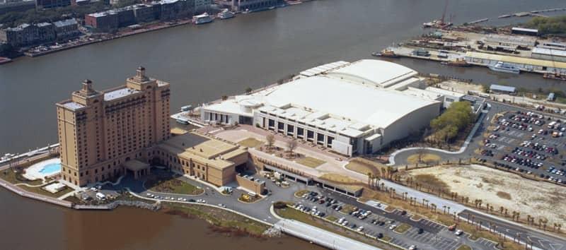 Maritime Trade Center in Savannah Georgia