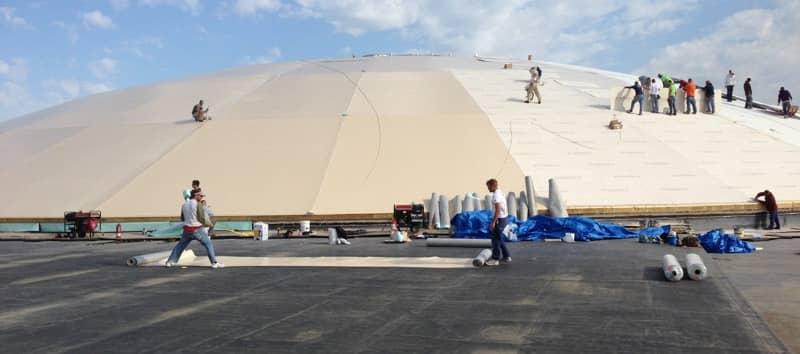 FiberTite Roofing Installation