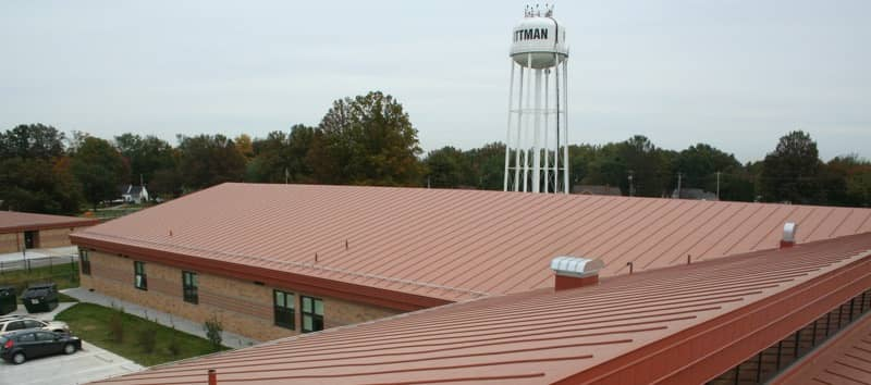 Rittman High School | Simulated Metal Roofing System