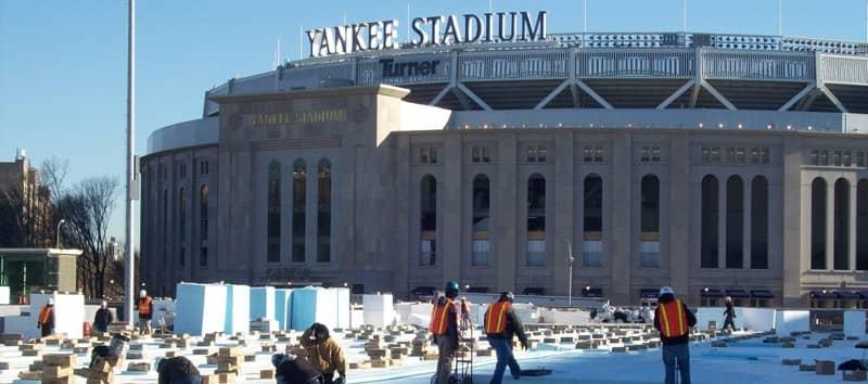 NY Yankee Parking Garage   February, 2007