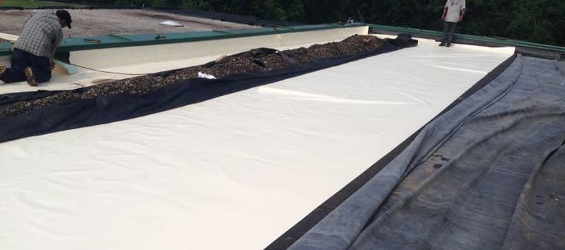 FiberTite Ballast Roofing System