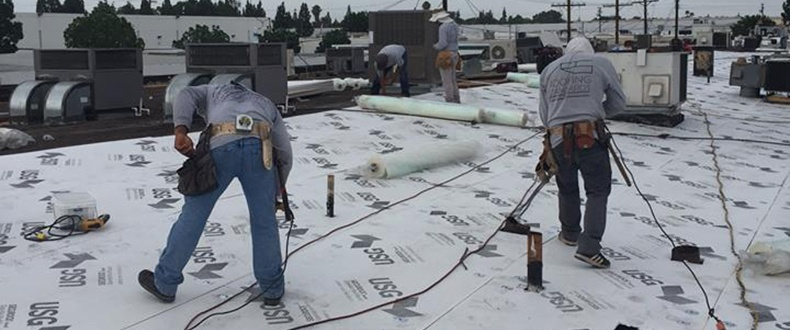 Cover Board - Prep for Membrane (Photo Credit-Roofing Standards, Inc.)