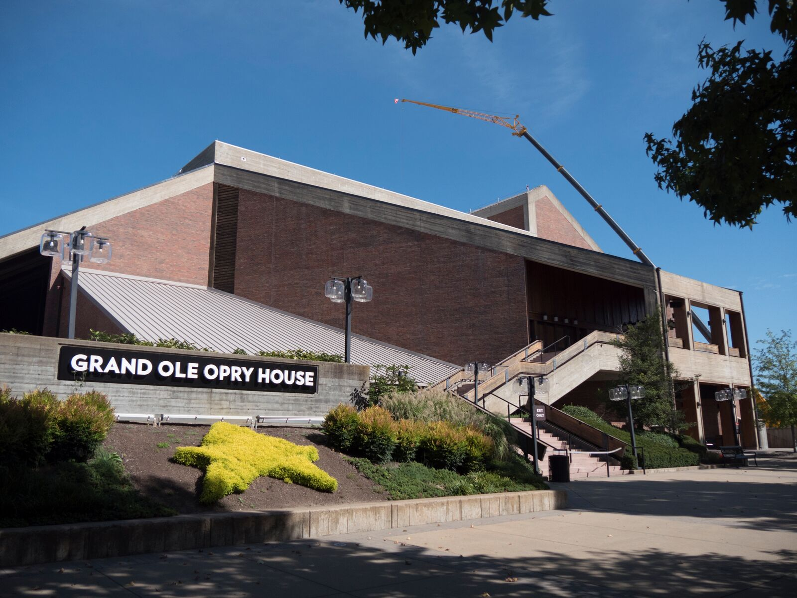 Simulated Metal Roofing System Installed At Grand Ole Opry