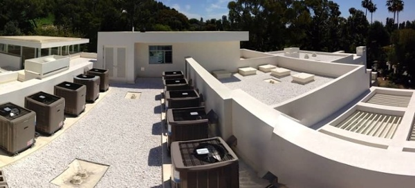 Ballasted Roof System in Beverly Hills