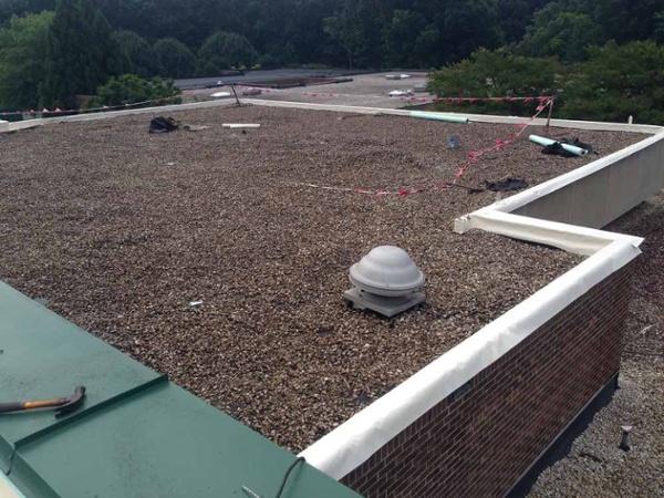 Gravel Ballast Roof