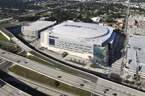 Adhered Roofing System, Amway Center, Orlando