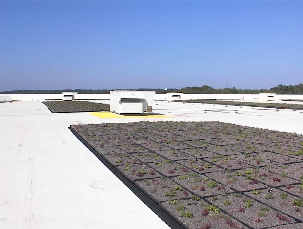 Energy Efficient Roof at IKEA in Stoughton, Massachusetts