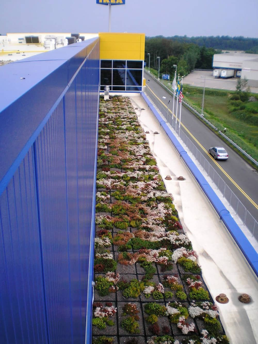 Energy Efficient Roofing System at IKEA in Stoughton, Massachusetts