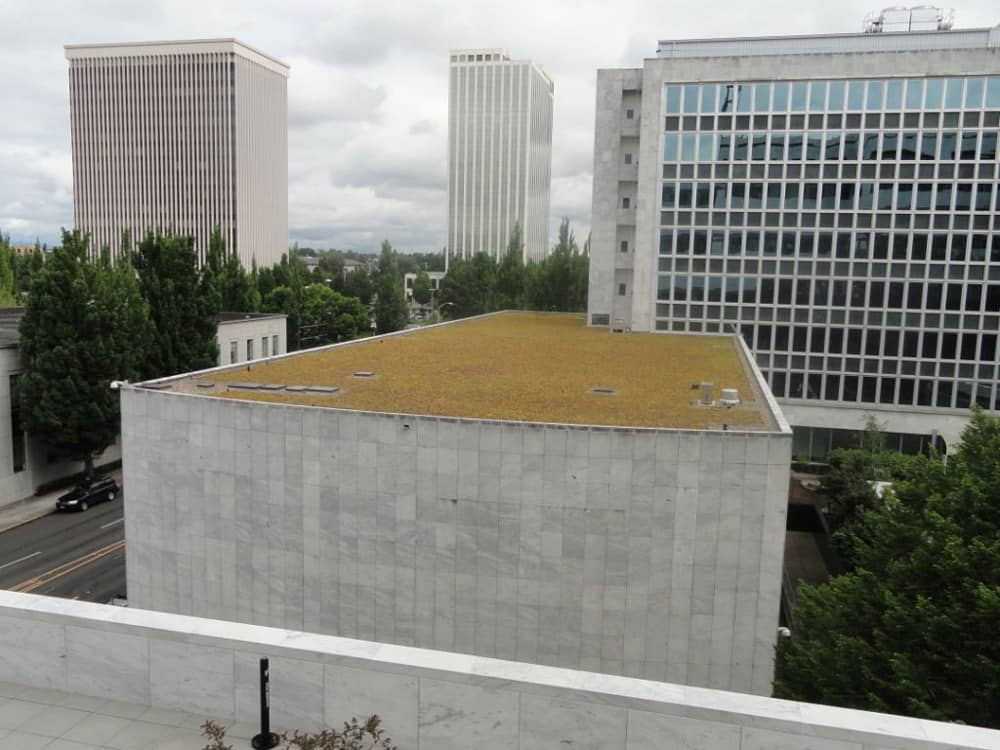 Office Building Energy Efficient Roofing System
