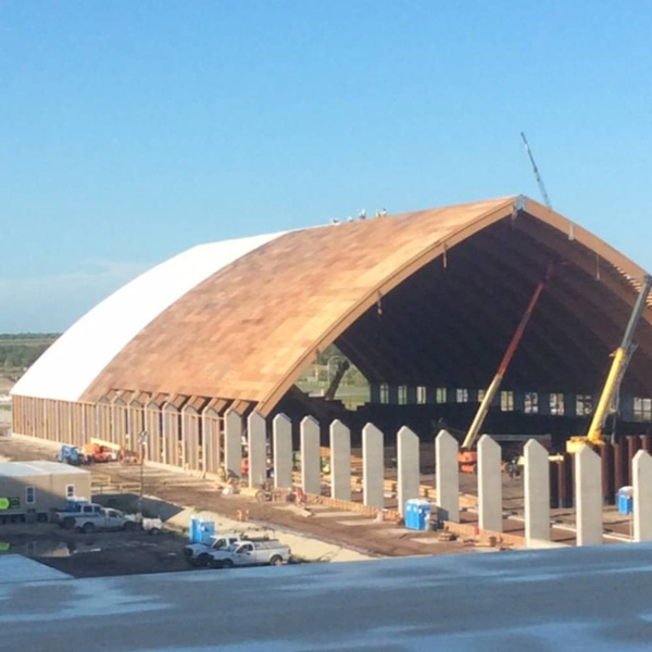 Mechanically Fastened Roof Installation at Mosaic Co. Fertilizer Plant in Mulberry, Florida