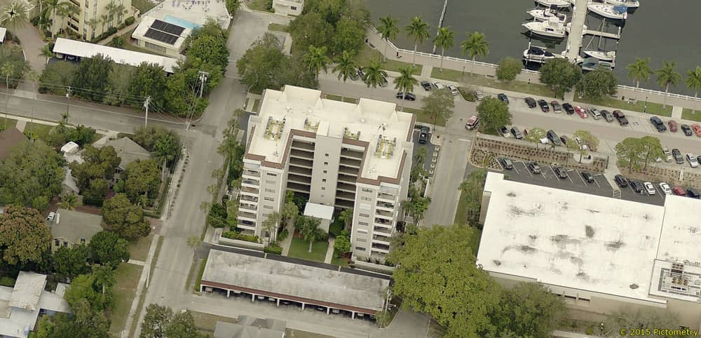 Mechanically Fastened Roof at Riverview Condos in Bradenton, Florida